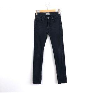 Acne Studios Ace Cash Faded Black Skinny Jeans